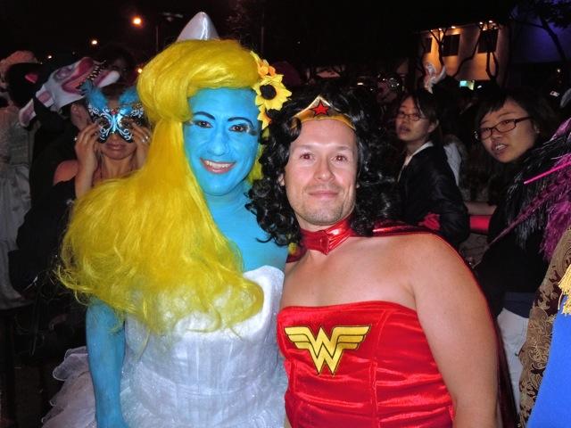 Smurfette West Hollywood Halloween Carnaval