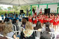 Ainda durante a programação desta terça, alunos das escolas públicas municipais de Teresópolis que desenvolveram, ao longo do ano, o projeto Faces do Brasil fizeram apresentações representativas do folclore brasileiro