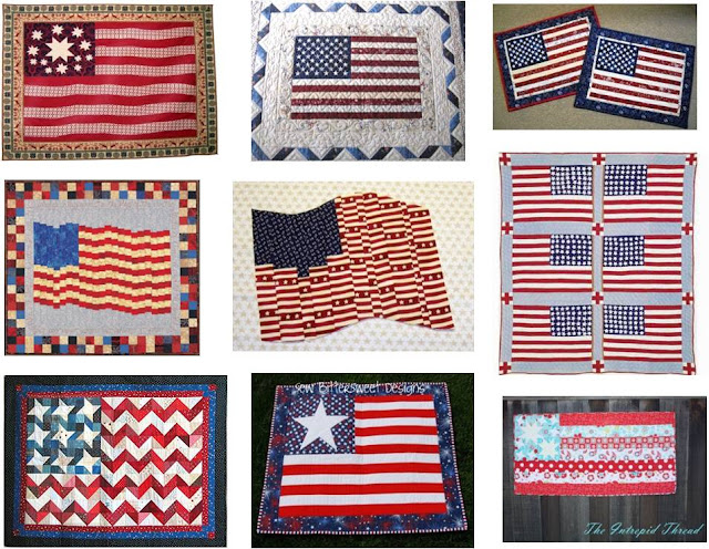 Quilt Inspiration Free Pattern Day Patriotic Quilts