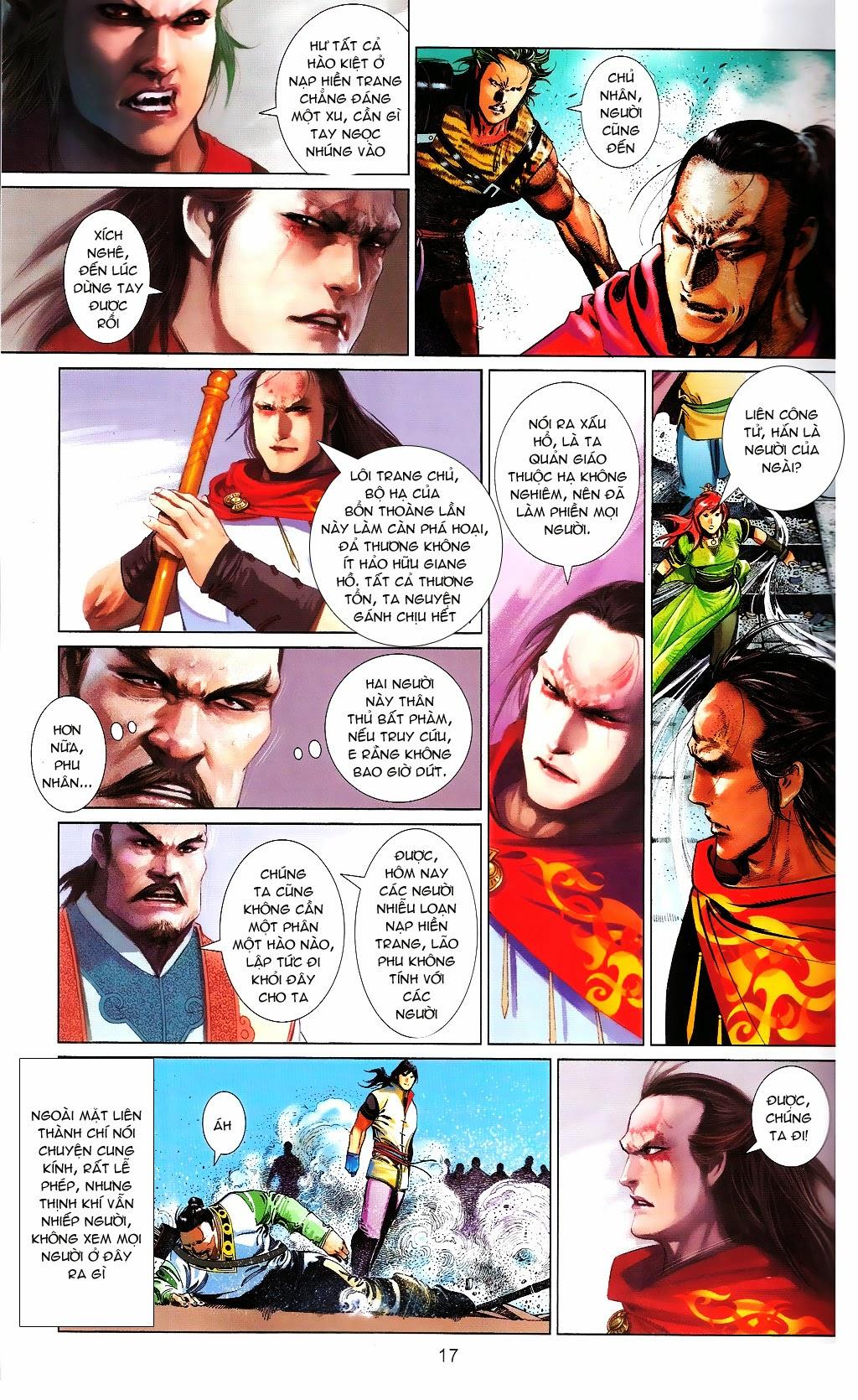 Phong Vân chap 664 Trang 17 - Mangak.info