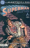 Capa da história em quadrinhos O estigma do Superman