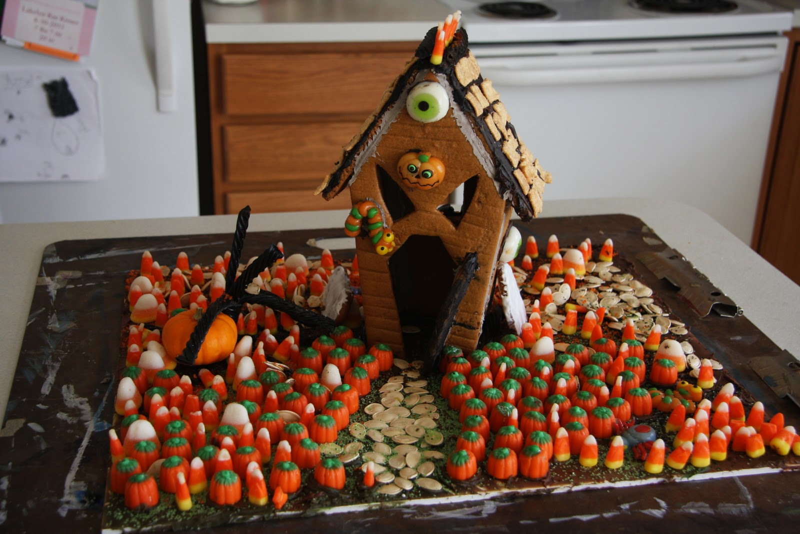 Gingerbread House Template Martha Stewart Here are the final houses!
