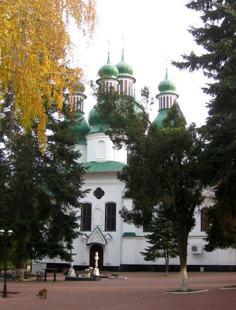 Фото Виталия Бабенко: церковь