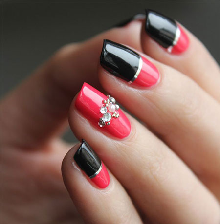 beauty dust top of the best acrylic nail designs