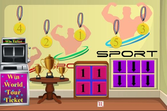 EnaGames Sports Room Escape 2