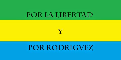 ¡Viva Rodriguezia independiente!