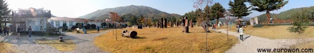 Panorámica del Centro Artístico Mooee cerca de Pyeongchang
