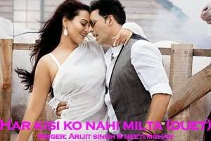 Har Kisi Ko Nahi Milta Yaha Pyar Zindagi Mein (Duet)