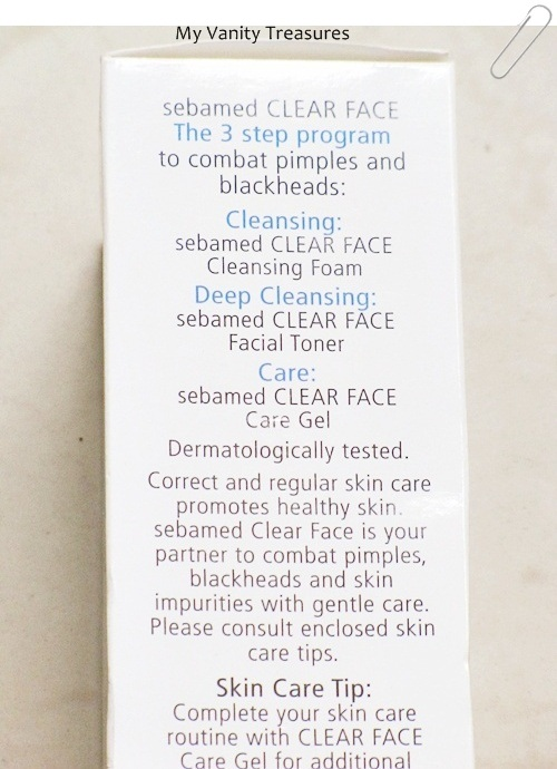 Sebamed Clear Face Cleansing Foam Face Wash