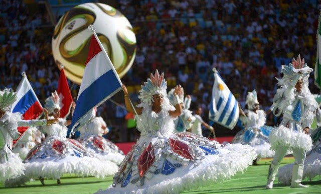 церемония закрытия Чемпионата мира по футболу, Маракана, Рио