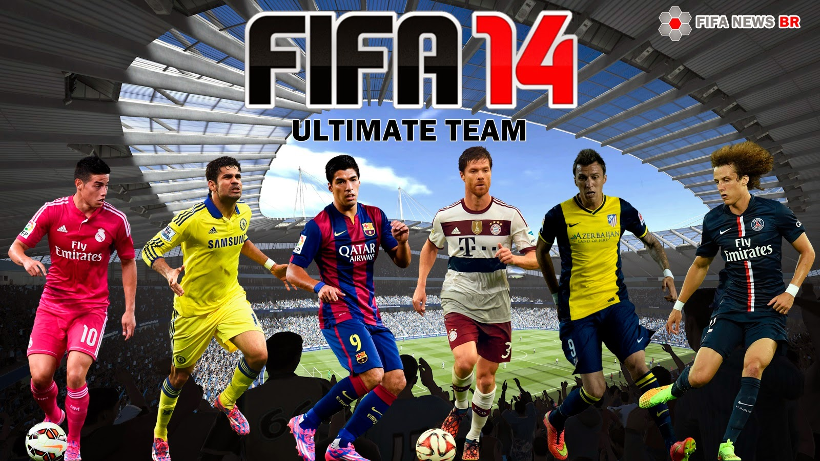 Jogadores do Ultimate Team Fifa 14