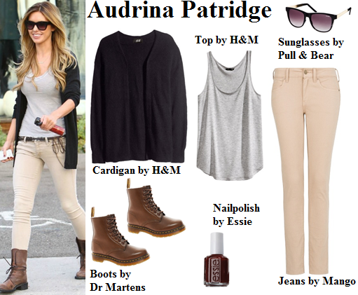 audrina patridge, the hills, cardigan, boots, essie