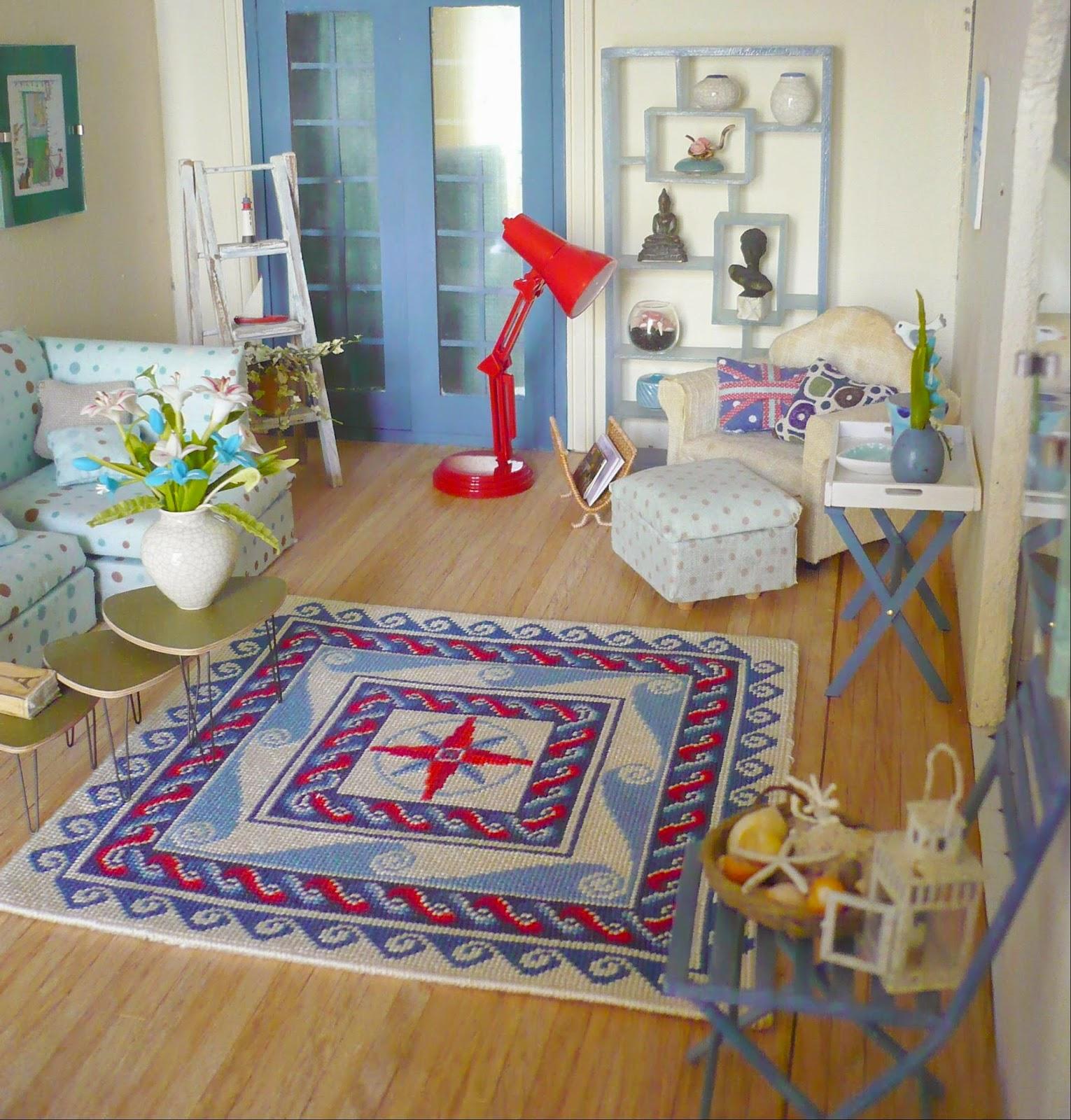 genevieve 39 s miniacollection bienvenue et mes tapis dans la maison bord de mer welcome and my. Black Bedroom Furniture Sets. Home Design Ideas