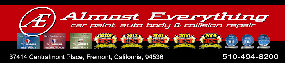 Almost Everything-Car Paint-Auto Body-Collision Repair-Fremont-Newark-Union City-San Francisco Bay