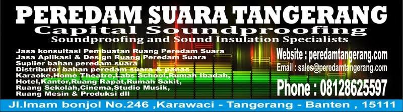 Peredam Suara Tangerang