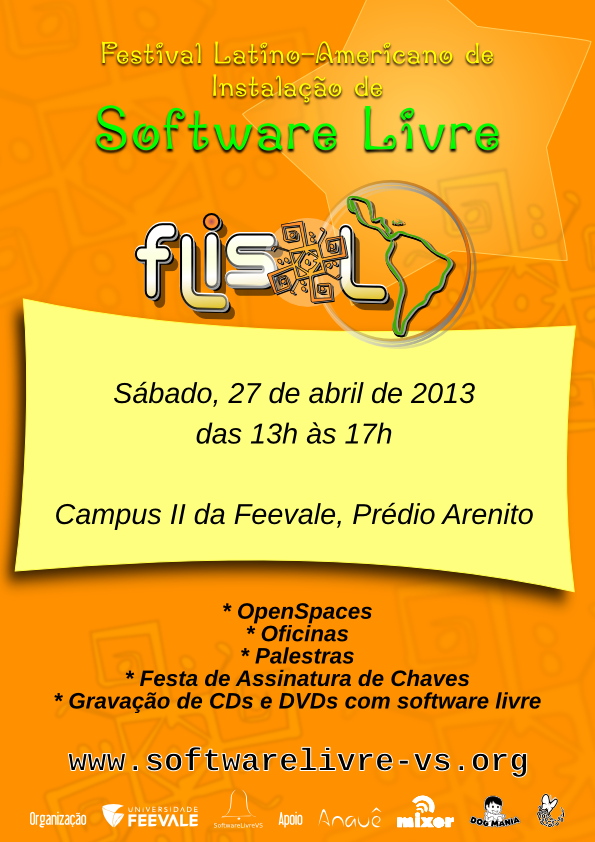 flisol 2013 software livre vs