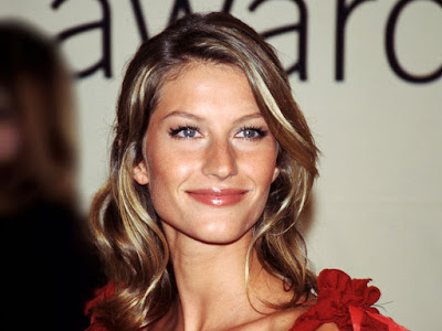 Gisele Bundchen Lovely Wallpaper