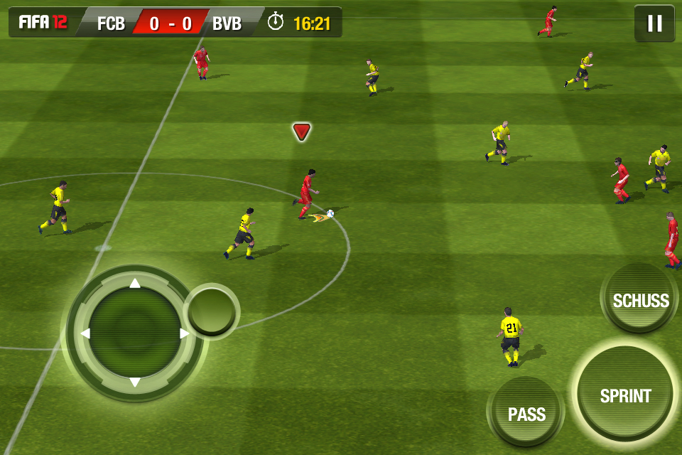 Free Download Android Game FIFA 12 1.3.87 apk