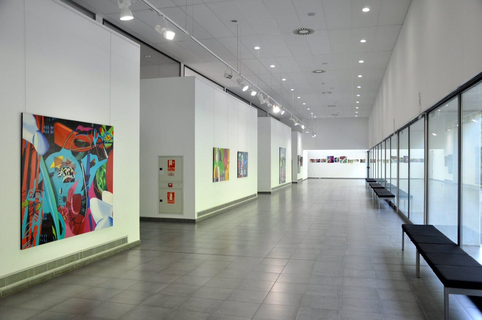 Beatriz r podas exposicion individual civivox iturrama for Pinturas esquiroz