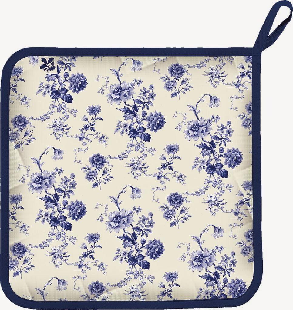 blue flower pot grab