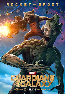 Rocket and Groot poster for Guardians of the Galaxy