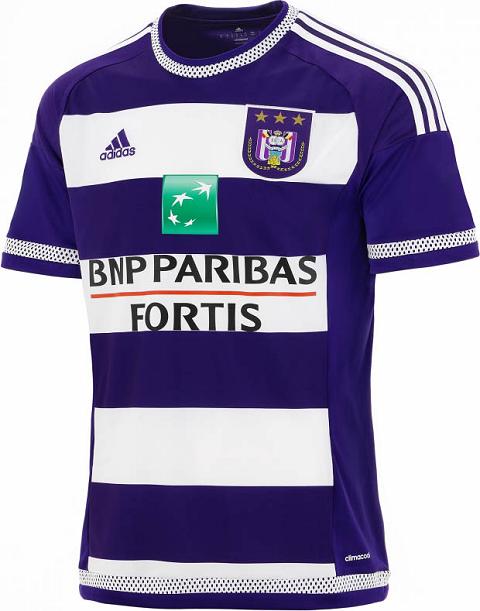 Adidas lança novas camisas do Anderlecht - Show de Camisas 57df603aa5bfc