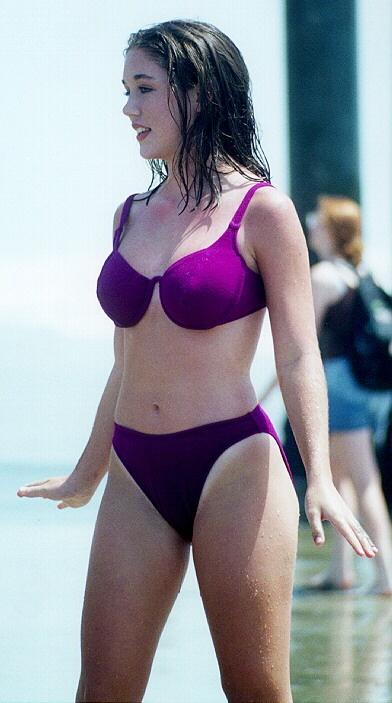 purple standing