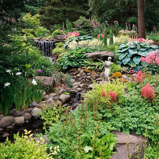 conseils déco et relooking: idées de jardin sur une pente et des ...