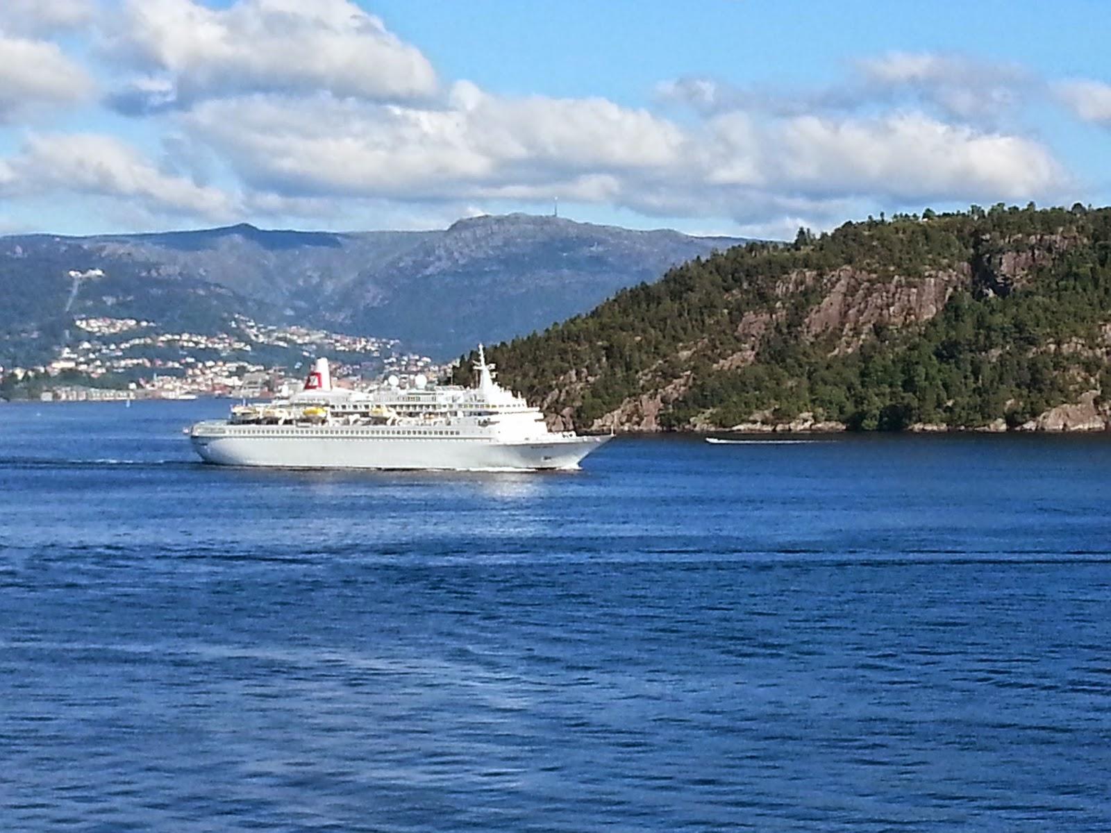 Cruise Ship Black Watch in Bergen