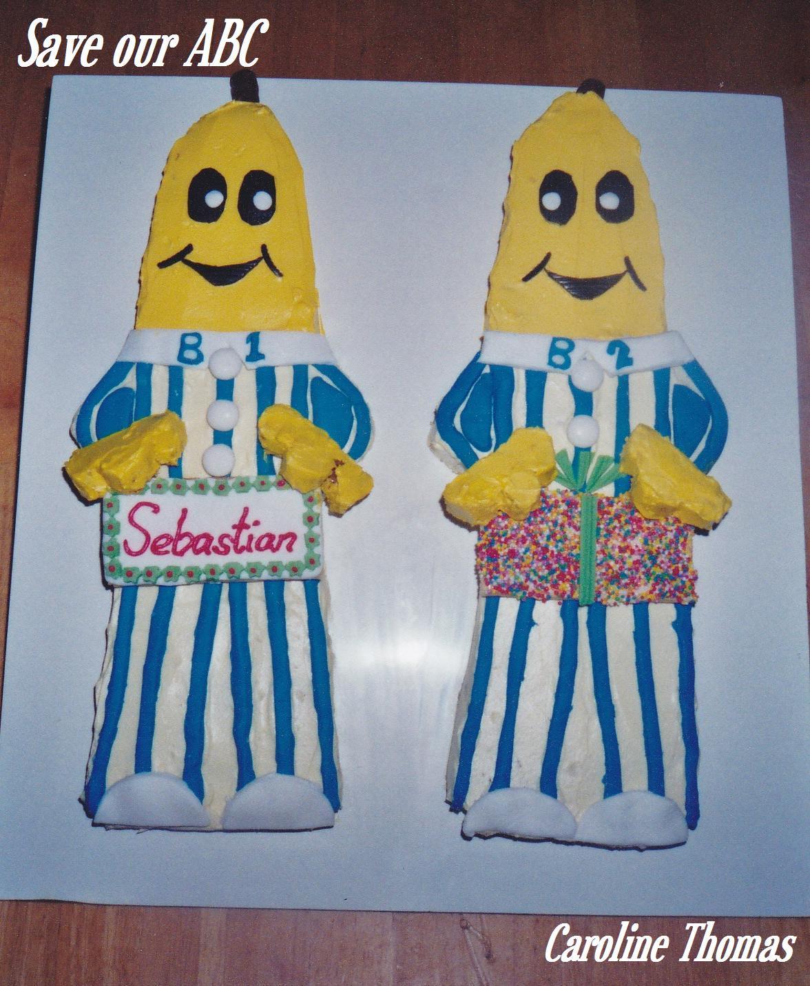 Banana's in Pyjamas Cake Save Our ABC