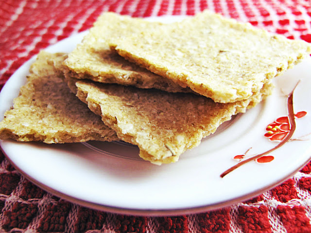 Easy Gluten Free Rice and Quinoa Cracker Recipe by Beth Hemmila of Hint Jewelry