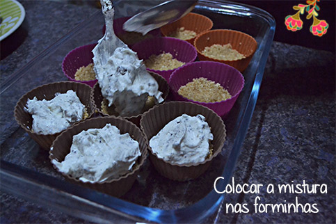 Cookie Cupcake - Passo a passo do creme