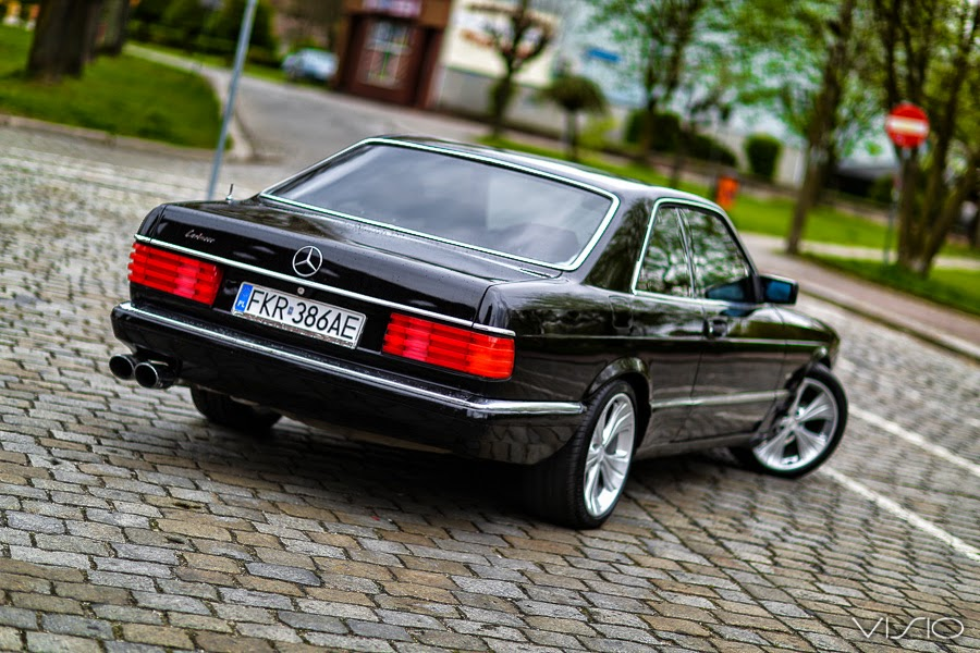 mercedes c126 coupe