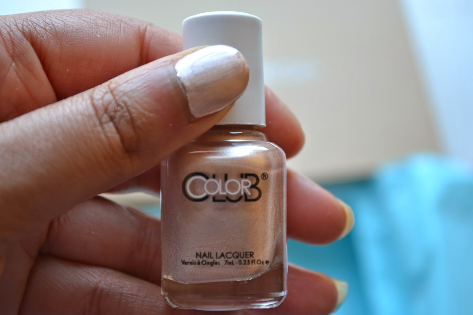 Color Club mini nail lacquer in the shade Gem Struck