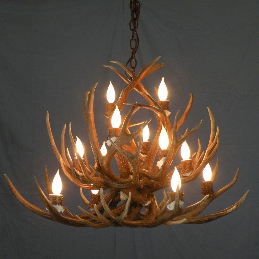 Awesome Antler Chandelier