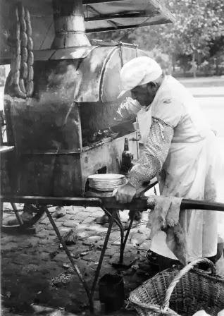 Carrito de Choripan 1925 Vendedor Ambulante