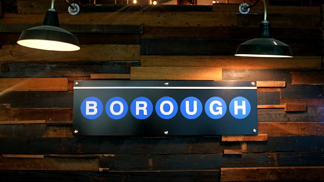 Neil Writes About Borough, The Podium Signange
