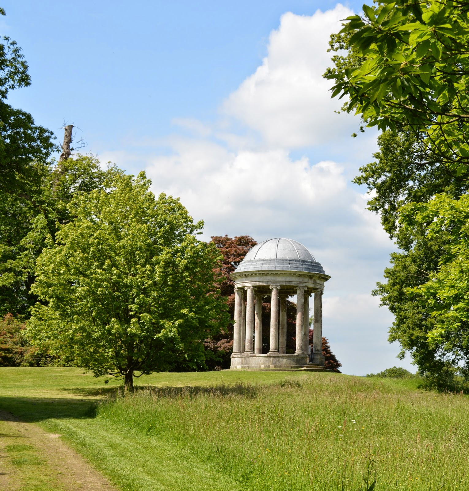 photograph, photo Petworth House and Gardens, review, visit, National Trust, west Sussex, historical home, building, 17th century, property, Percy family, England, ionic rotunda