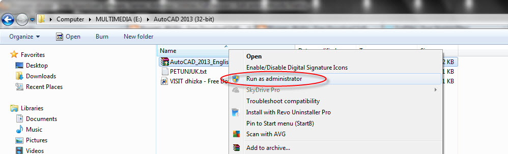 how to run autocad 32 bit on 64 bit