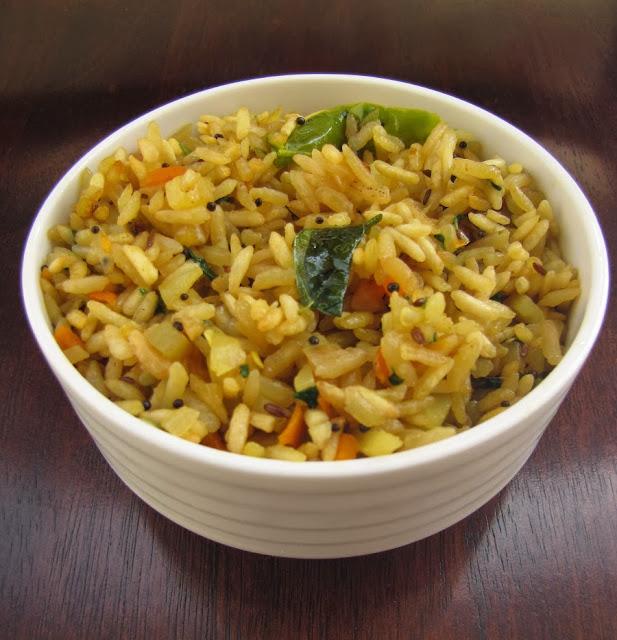 Tasty And Easy Puffed Rice Upma / Maramaralu Upma