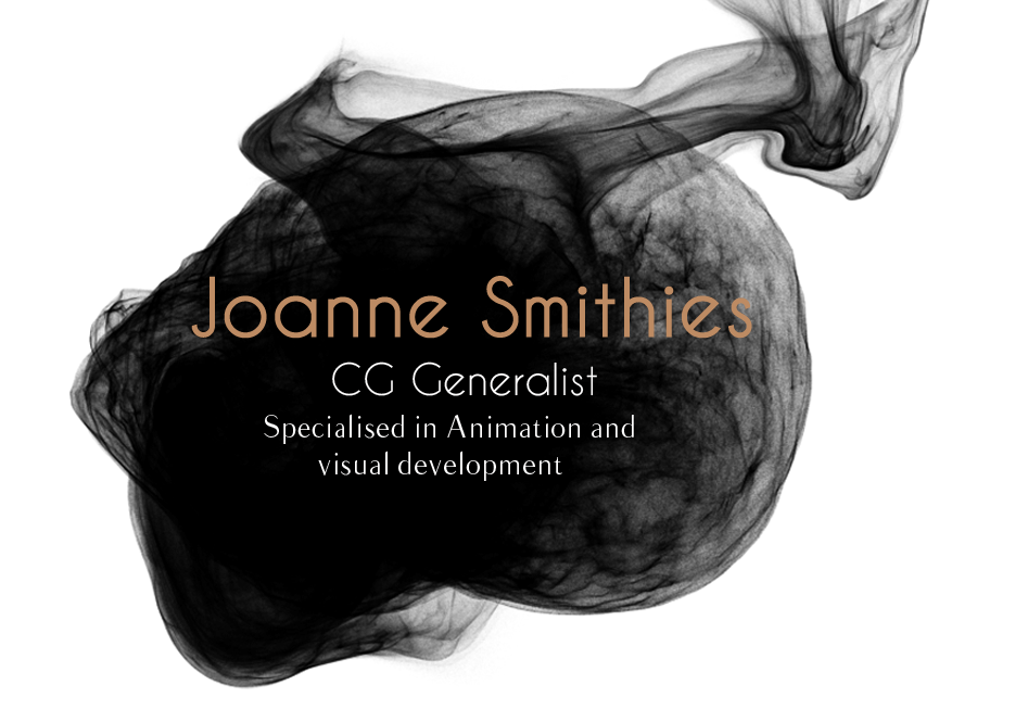 Joanne Smithies // 3D Animator // Visual Development
