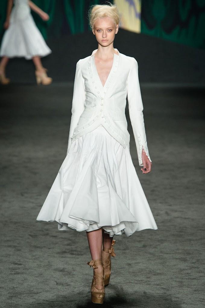Spring 2013: Vera Wang