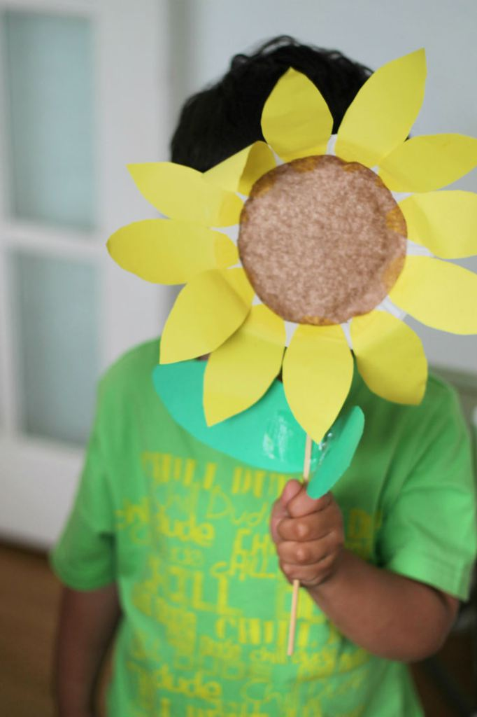 Top 10 Sunflower Crafts For Kids Crafty Kids At Home
