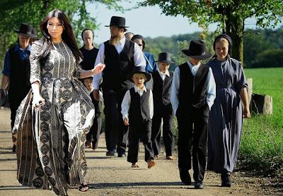 Kim Kardashian Amish funny