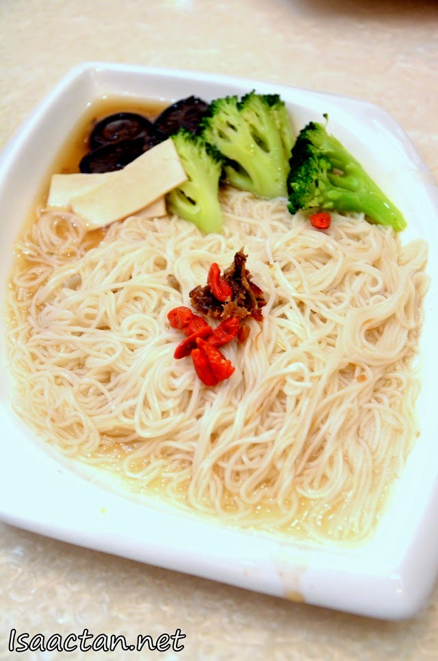 #3 Mee Suah with Dried Scallop & Abalone Slices - RM13.90