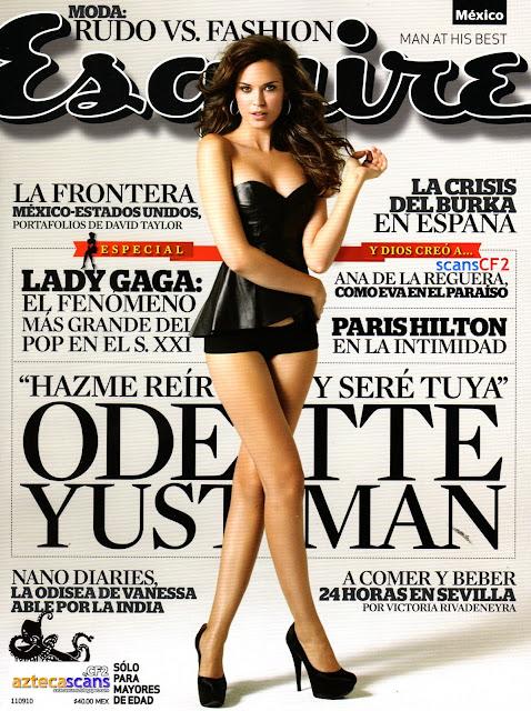 Ana de la Reguera Revista Esquire Julio 2010
