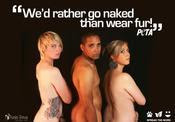 Spread the word - Anti Fur Campaign