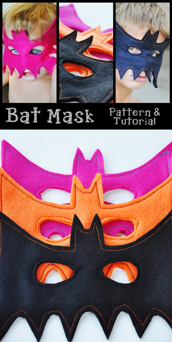 Halloween Costume Bat Mask