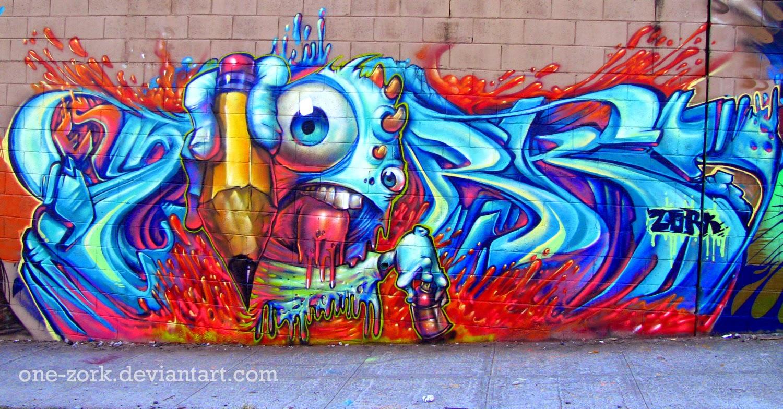 ya muchas personas saben que es graffiti algunas personas lo ven de buena manera pero otros como delincuencia, el graffiti es una forma de expresión y