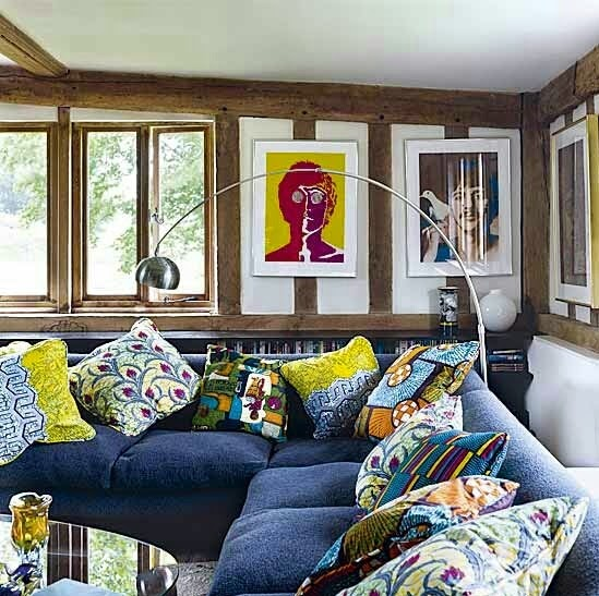 Pinterest Home Decor 2014: African Touch In Your Home (Kitenge)